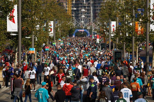 Wembley Park Boulevard - NFL weekend