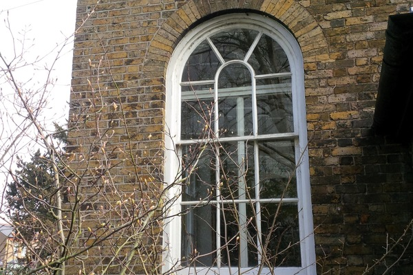 one of original 6 Georgian windows
