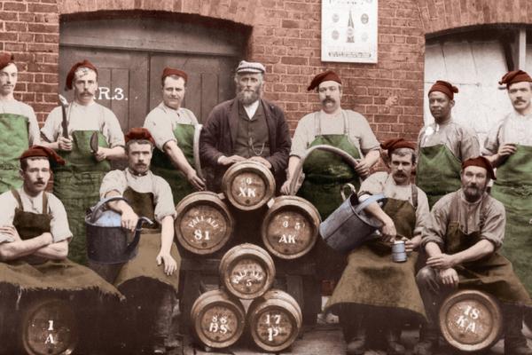 Brewing Team Circa 1908
