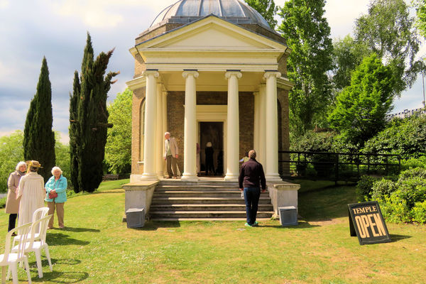 Garrick's Temple open for visitors, 1st May 2017