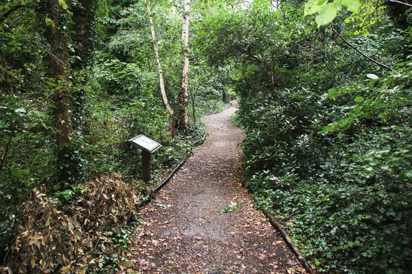 Footpath at Gunnersbury Triangle