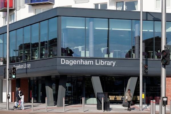 Dagenham library exterior