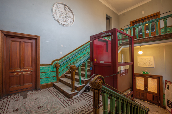 Stanley Halls Assembly Rooms Staircase