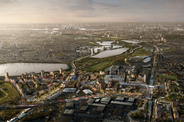 Proposed masterplan in context