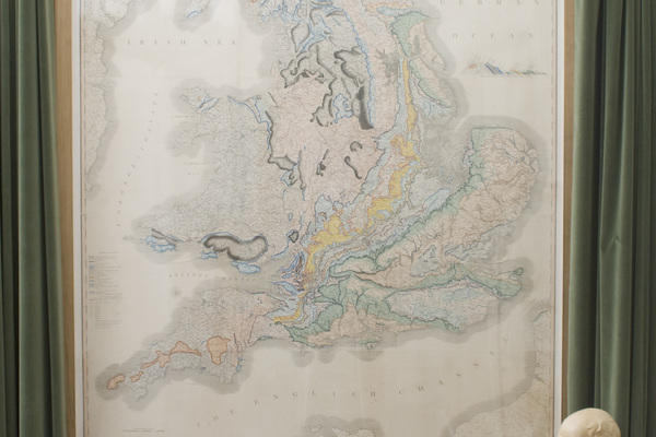 William Smith's 1815 geological map of England and Wales
