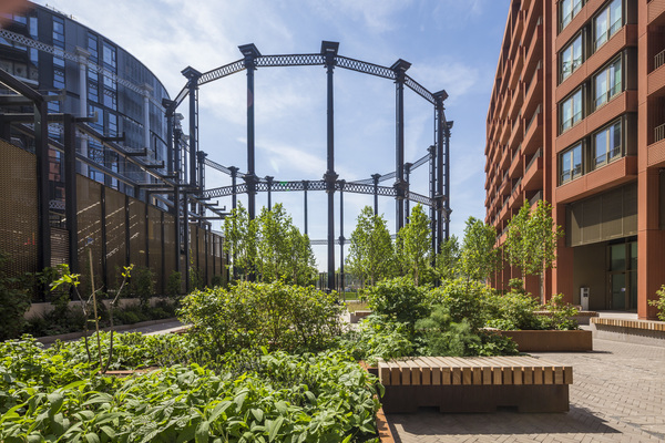 View of Gasholder Park
