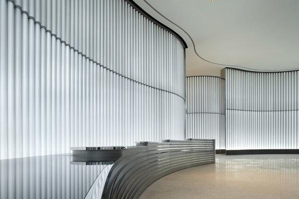 The Reception interior