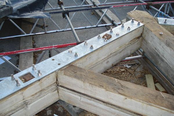 Sensitive structural repairs