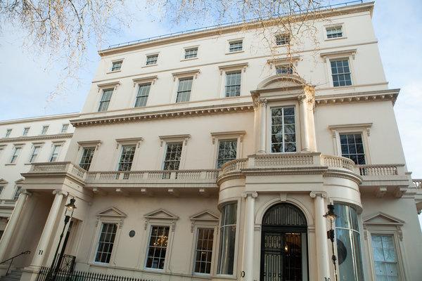 Facade of 10-11 Carlton House Terrace