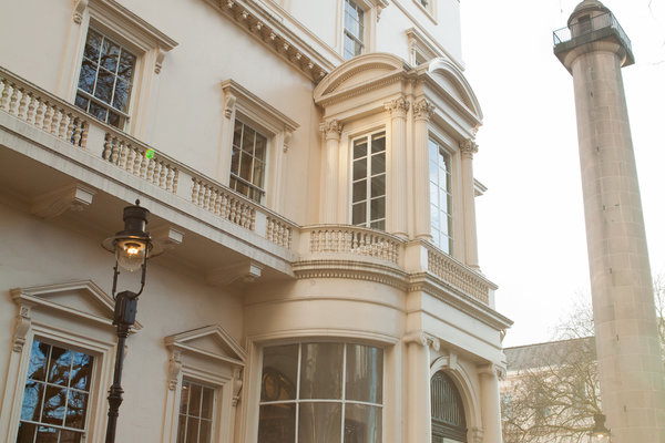 Side view of 10-11 carlton house terrace
