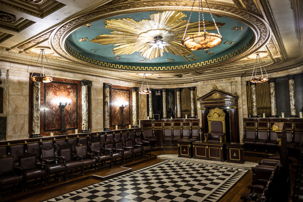 The Masonic Temple at Andaz London Liverpool Street