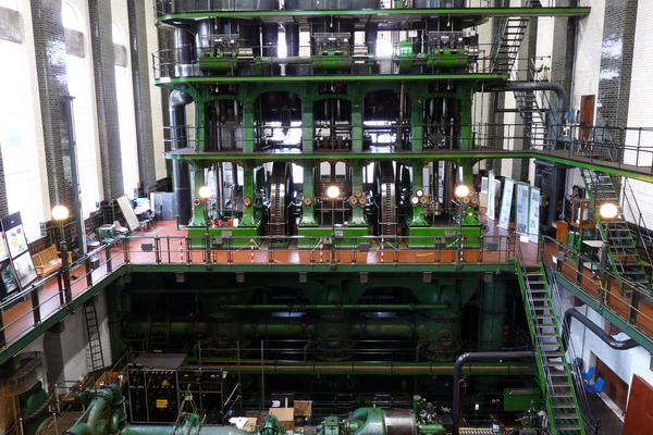 World's largest working triple-expansion steam pump