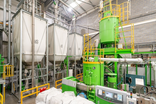 Veolia's Dagenham milk bottle recycling facility