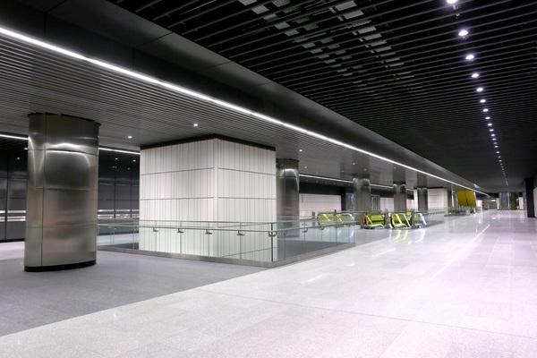 Canary Wharf Ticket Hall for future Elizabeth line
