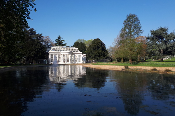 The Orangery and the Horseshoe Pond