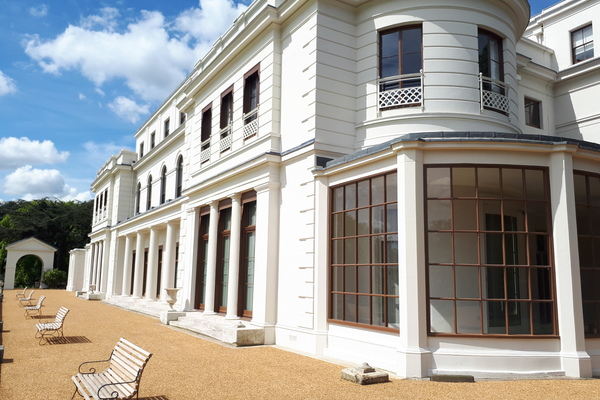The newly refurbished Gunnersbury Park House