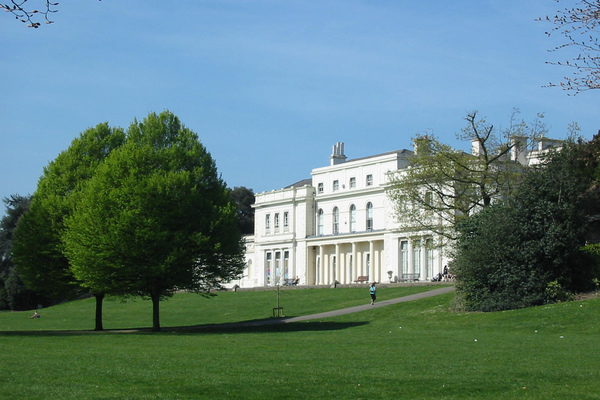 View of Gunnersbury Park House from the park