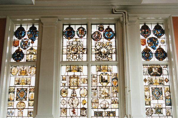 Bennett Window, painted glass from Strawberry Hill