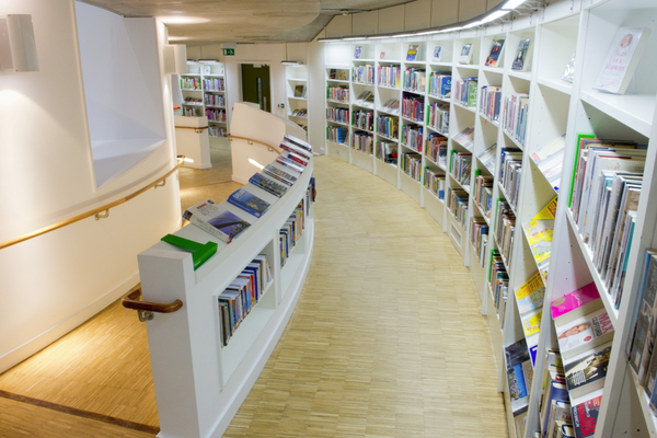 Interior view - shelves