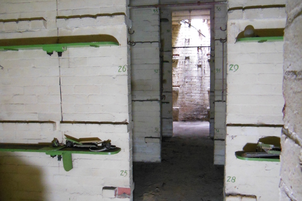 Interior image of the sleeping quarters