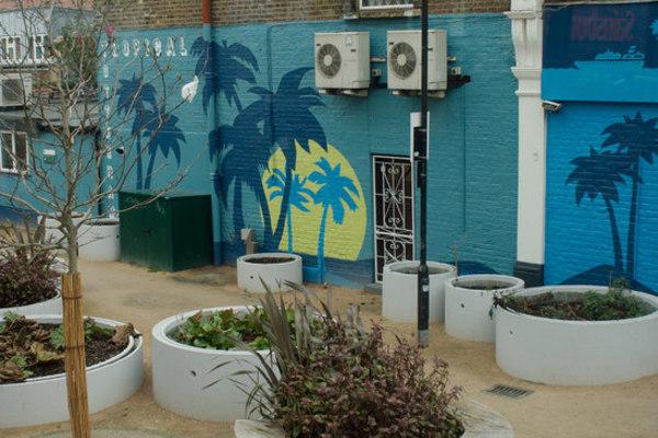 Tropical Tottenham- West Green Road Pocket Park