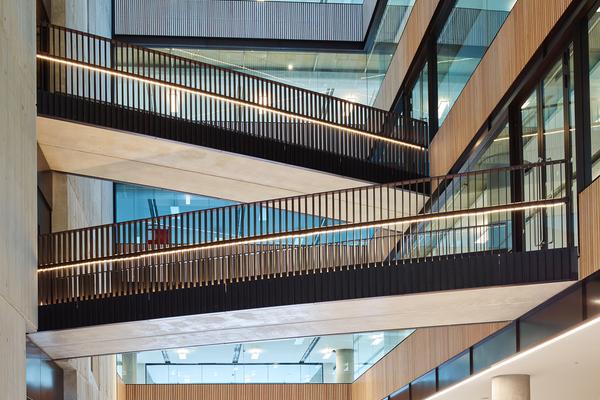 2 Television Centre. Interior