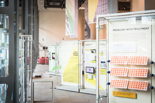 Open for Discovery - public exhibitions at the Crick