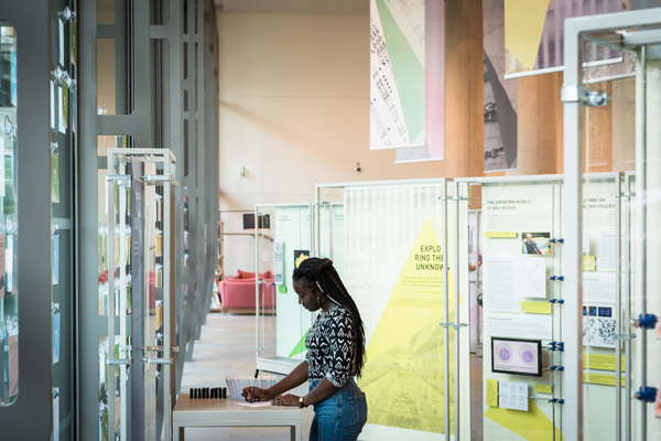 Public exhibitions at the Crick