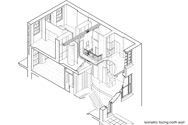 3Floorin2Apartment Isometric facing n-e