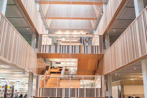 University Library, interior