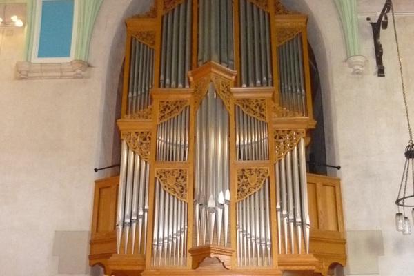 Walker Organ installed 1991