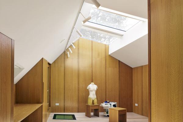 interior Garden house first floor studio