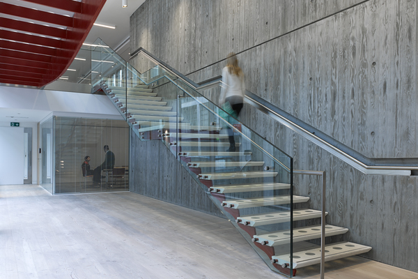 Institution of Structural Engineers stair and bridge