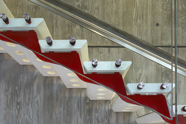 Institution of Structural Engineers, Bastwick Street: stair detail