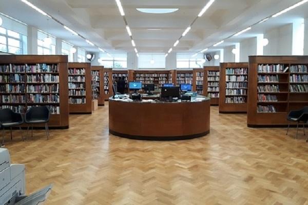 Kenton - adult library recently refurbished