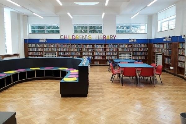Kenton children's library - recently refurbished