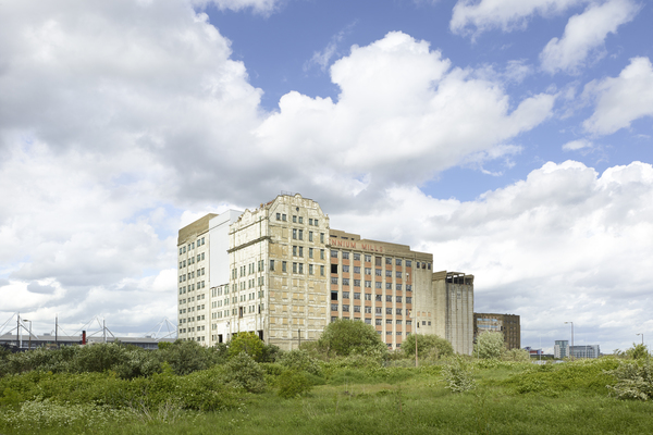 View of Millennium  Mills