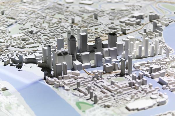 New London Model detail