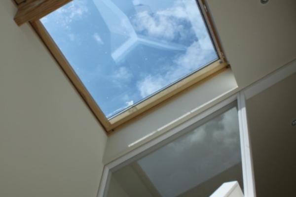 Mezzanine skylights
