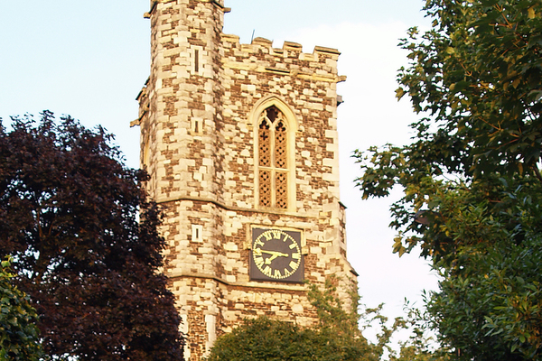 West Face of Tower