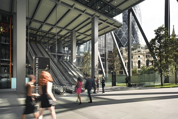 The public space at The Leadenhall Building