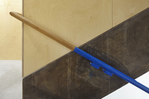 22 Gordon Street Handrail in a retained stairwell bringing together the old and the new