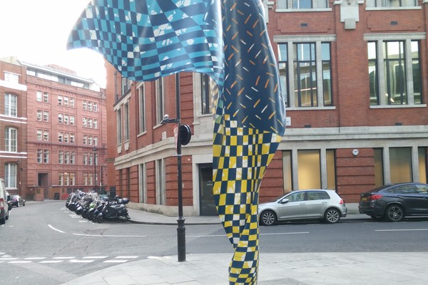 Wind Sculpture in Howick Place