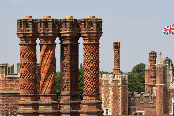 Hampton Court Palace - Chimneys