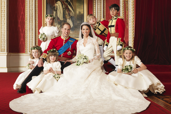 RSN worked on the Duchess of Cambridge wedding dress