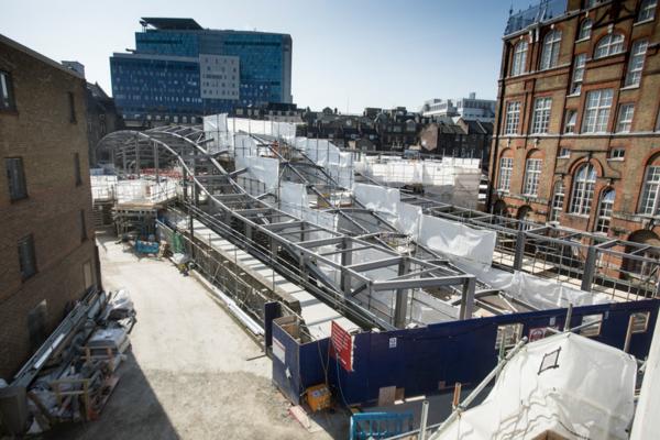 Whitechapel concourse for future Elizabeth line