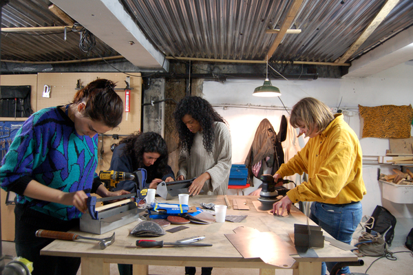 Power Project's toolbox making workshop at Livesey Exchange