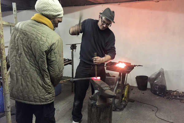 Mobile Forge at the Livesey Exchange