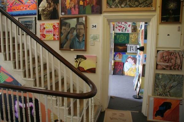 Inside the Koestler Arts Centre