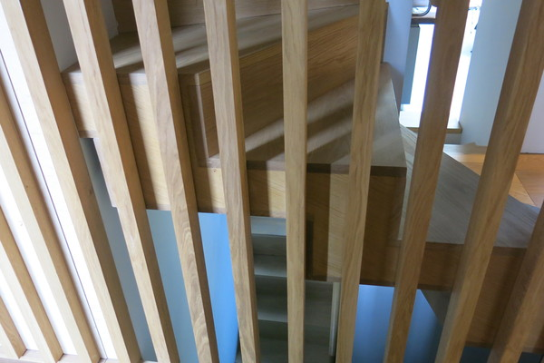 Timber Stair Screen